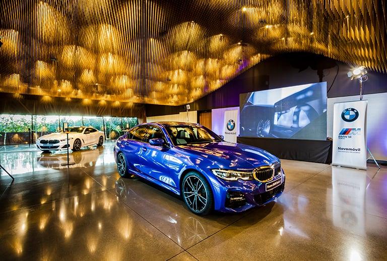 Presentación del nuevo BMW Serie 3 en Finca Montesqueiro