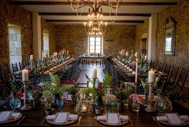 Celebra tu boda con Montesqueiro Catering en el Pazo de San Tirso