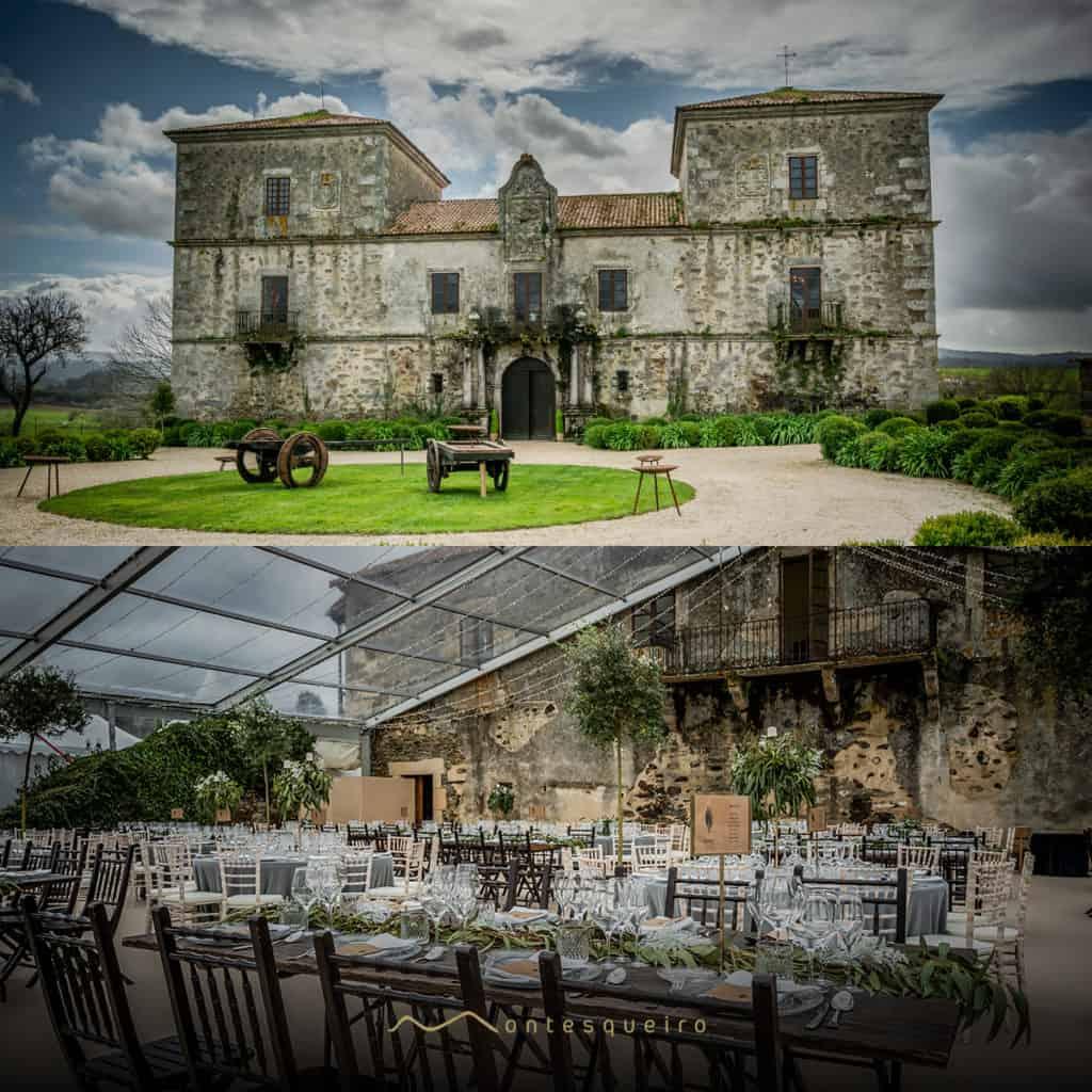 Montesqueiro Catering dispone de dos pazos en Galicia para celebrar tu evento
