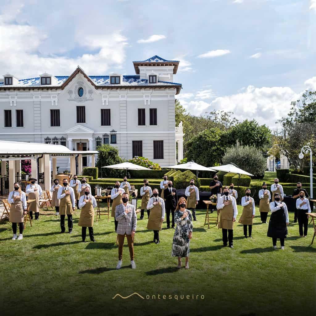 Grupo Montesqueiro presenta Montesqueiro Catering